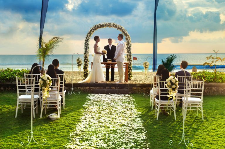 the oberoi bali wedding