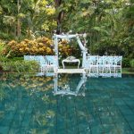 melia bali resort pool wedding venue