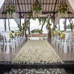 melia bali resort beach wedding venue