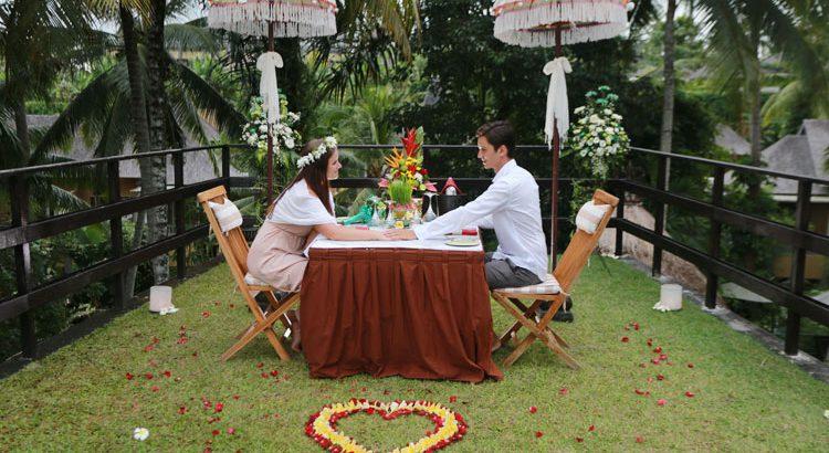wapa di uma ubud romantic dinner