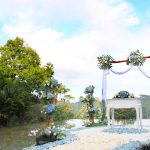 wedding decoration at kupu barong ubud