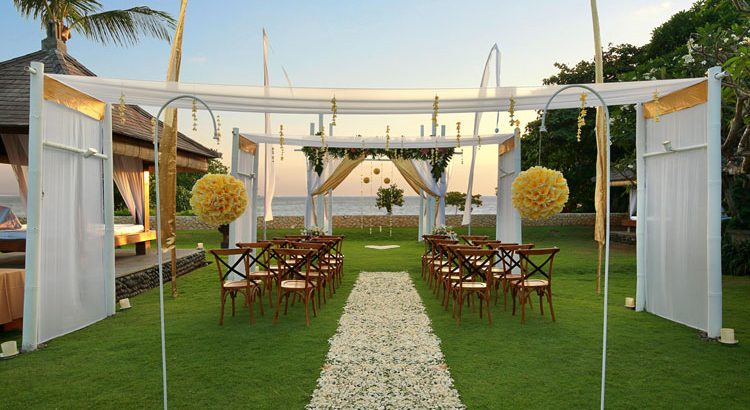 bali niksoma resort legian wedding venue