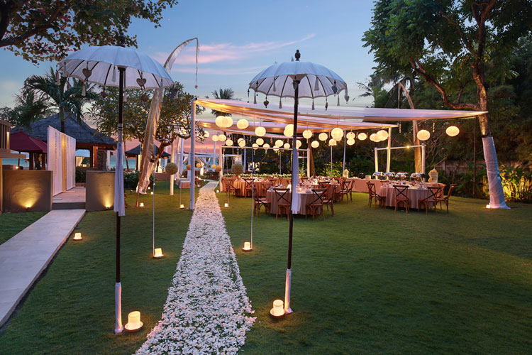 bali niksoma resort legian wedding venue