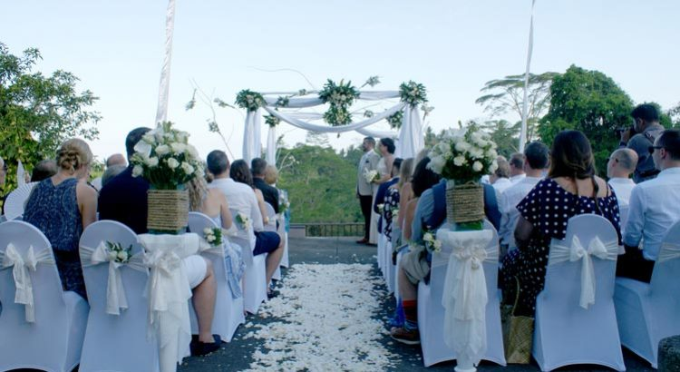 maya ubud resort wedding ceremony