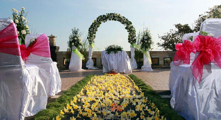 pelangi bali hotel seminyak - wedding decoration