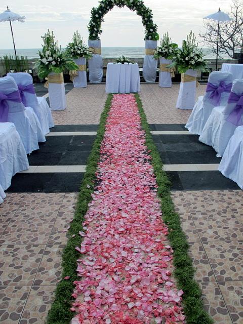 pelangi bali hotel seminyak - wedding venue