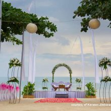 keraton jimbaran beach resort - happy bali wedding