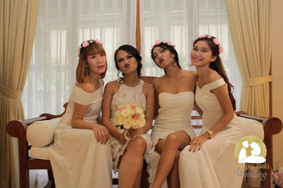 tiwi & thomas ubud wedding - happy bali wedding