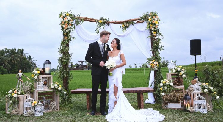 bali wedding vows at desa visesa