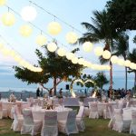 wedding reception in holiday in baruna