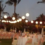 wedding reception at holiday in baruna