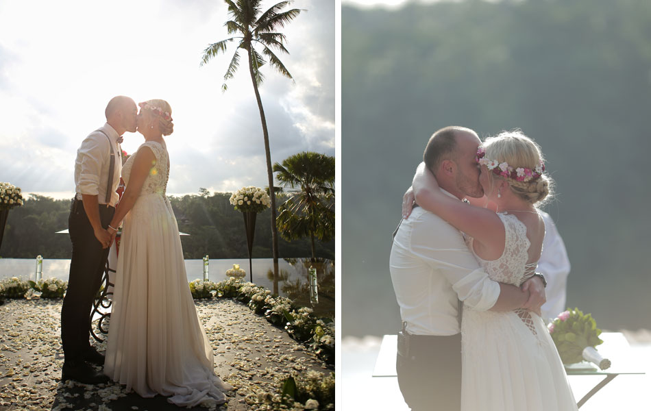 corrina and roman legal wedding in Ubud Bali