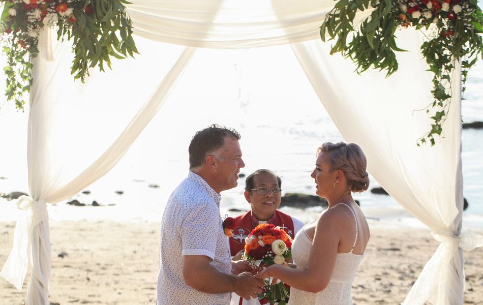 yes i do - bali wedding vows