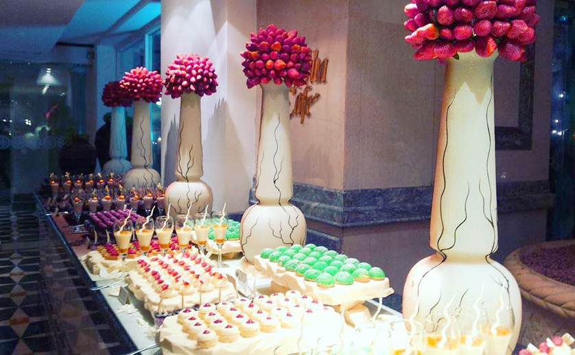bali wedding catering - cakes and beverage