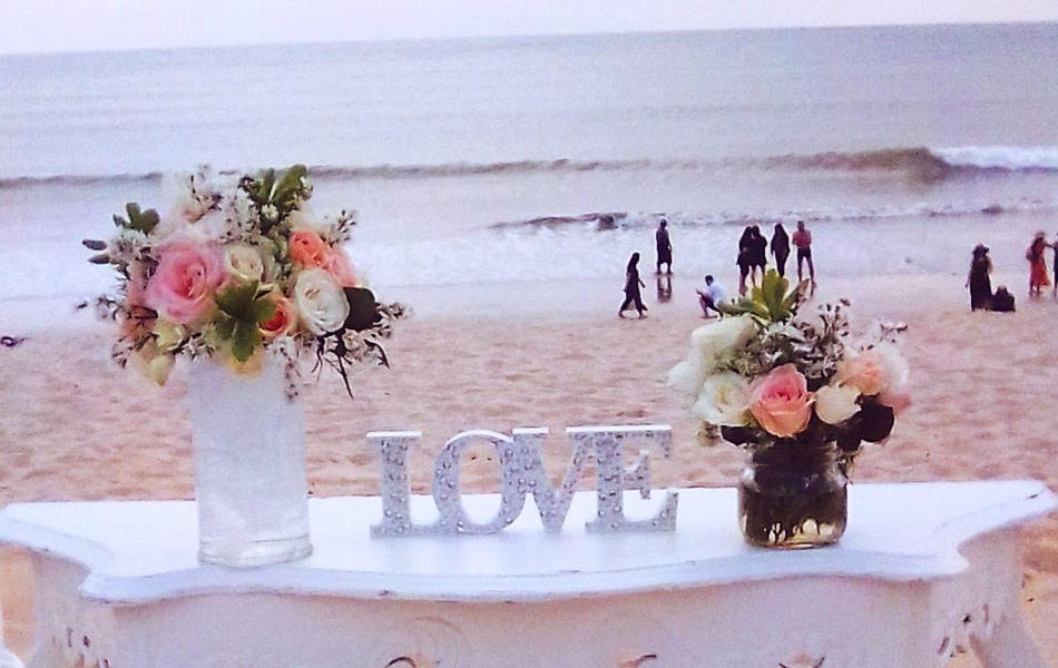 bali commitment wedding ceremony beach