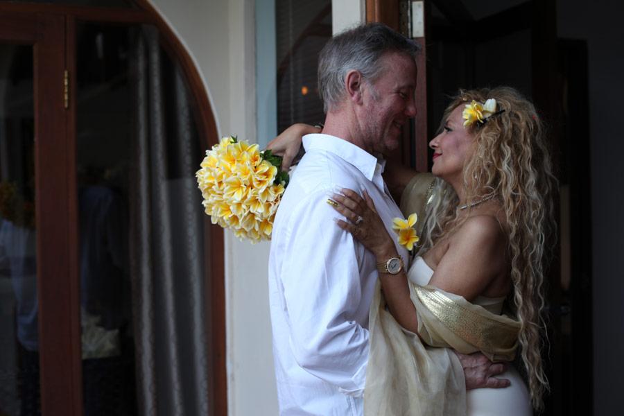 craig marguerite commitment wedding - seminyak bali