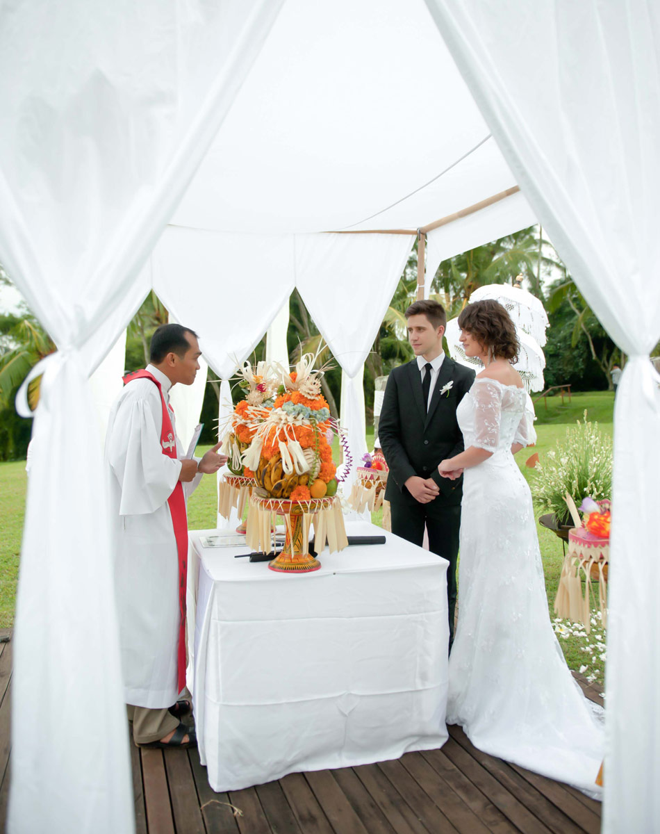 margarita wedding at alila villa ubud bali