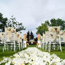 the sintesa jimbaran wedding decoration