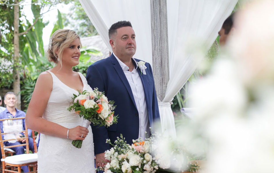 Tammie and Clinton bali wedding