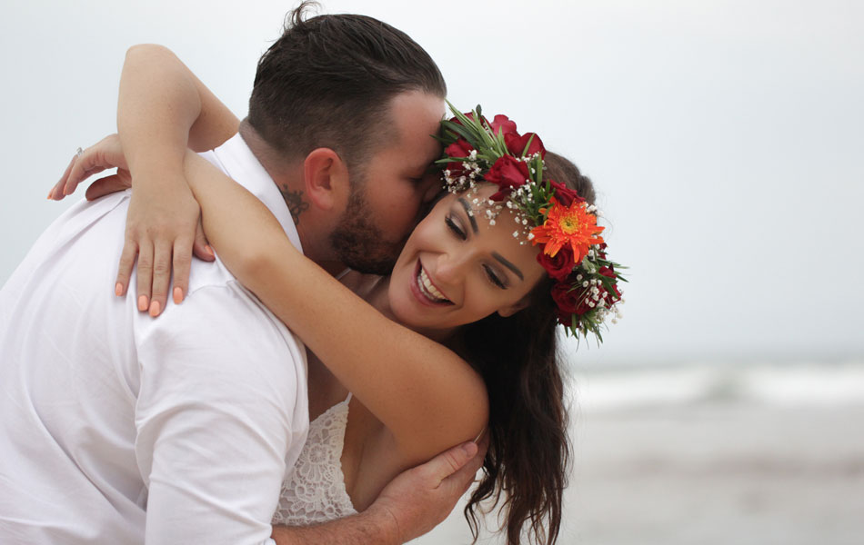 jasmin and adam beach commitment wedding in bali