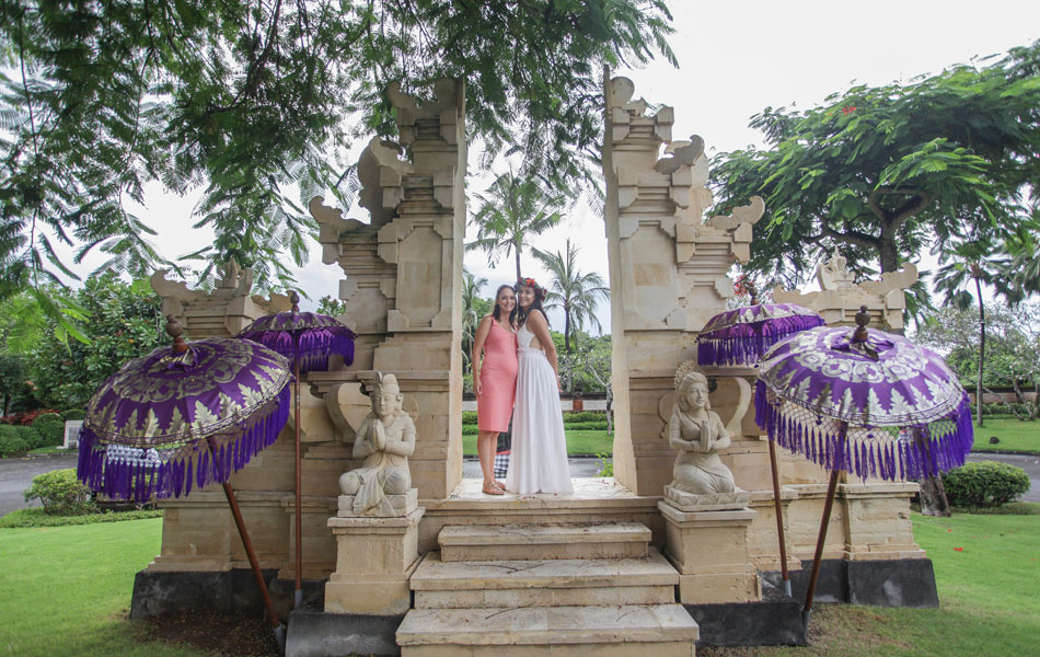 bali wedding brides