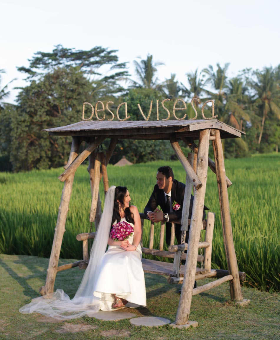 rita and mark balinese wedding photograph
