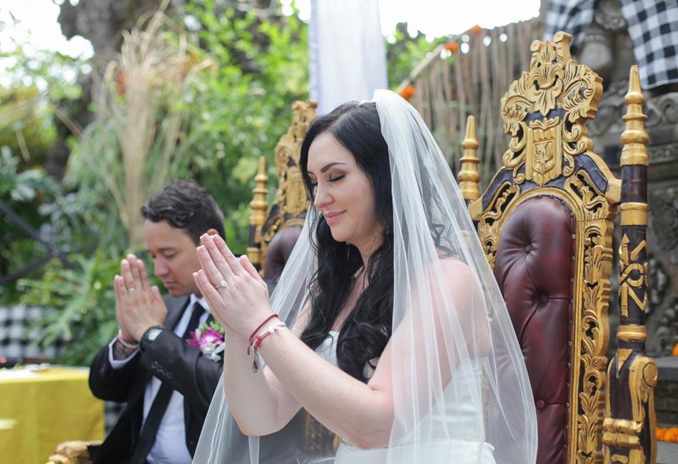 rita and mark balinese wedding