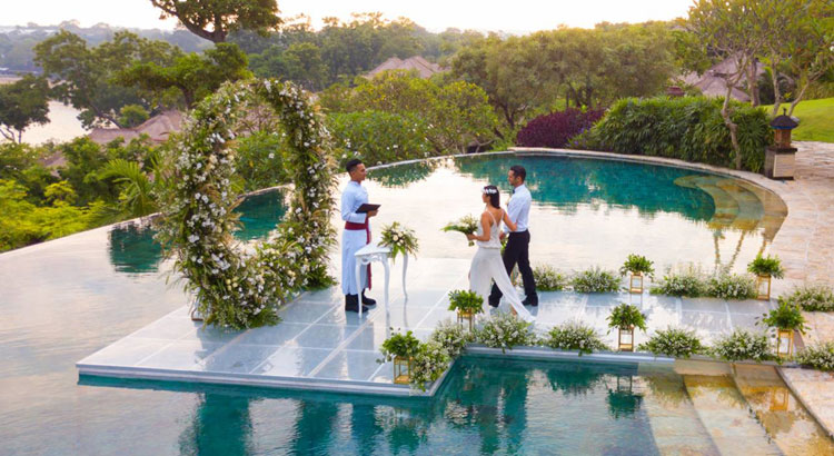 four season jimbaran bay wedding venue