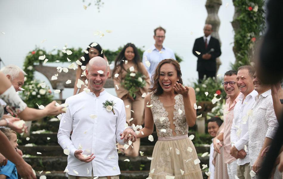 Mirelsa and Paul Bali Renewal of Vows