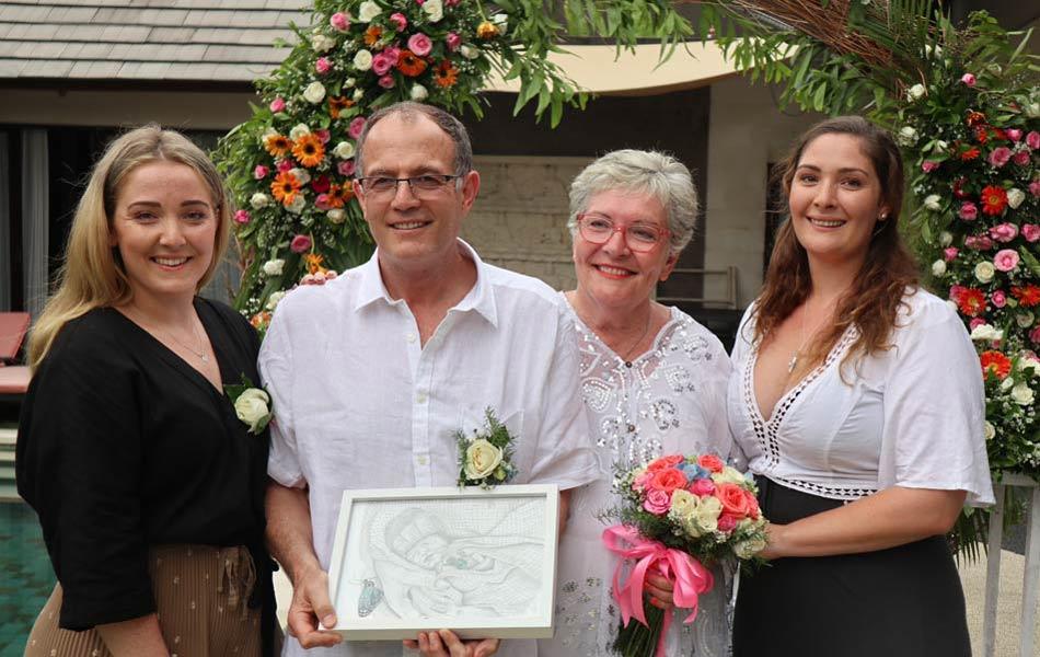 Mark and Debbie Sutherland bali wedding