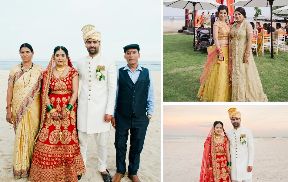 punam and mukesh indian wedding in bali