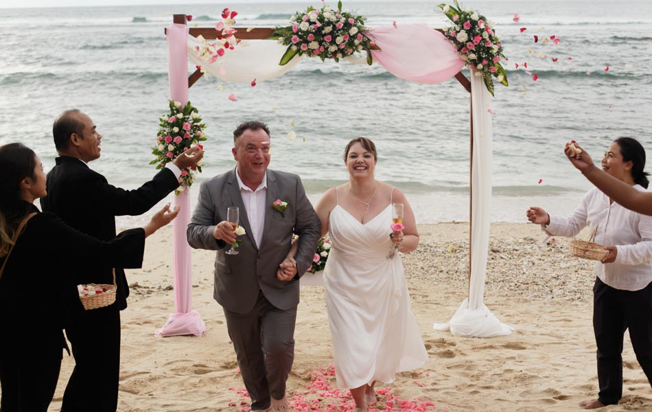Angela and Craig Wedding Anniversary - Balangan Beach Bali