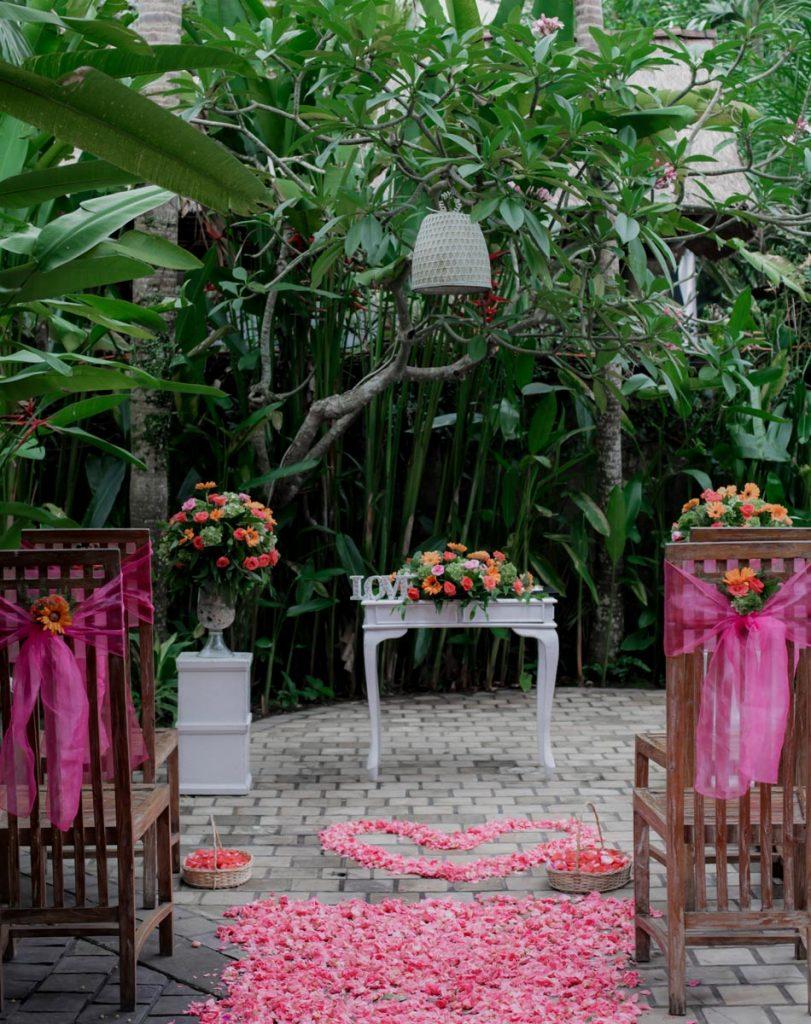 Wedding Flower- Happy Bali Wedding