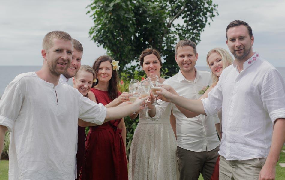 Laura and Janis Buddhist Bali Wedding Ceremony