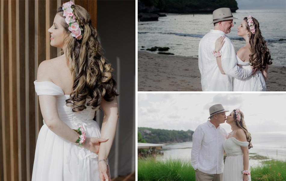 Laura & Dave Bali Renewal Vows Ceremony