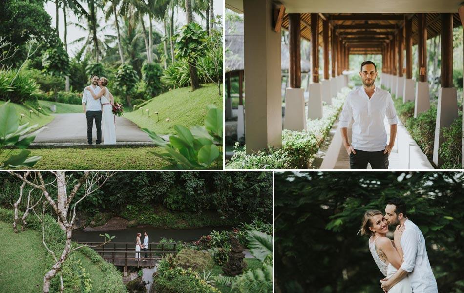 Jasmin And Mirko Bali Wedding Celebrated Maya Ubud Resort Bali