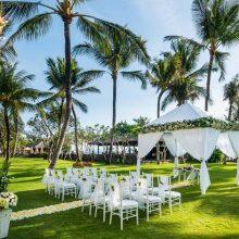 the legian bali garden wedding