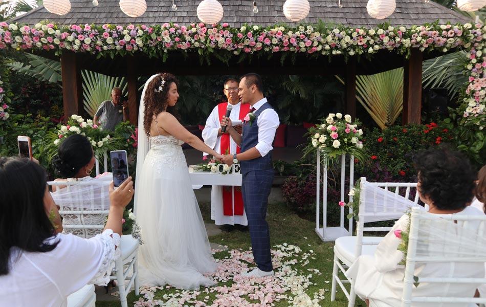 Nicole and Hendro Bali Wedding Villa