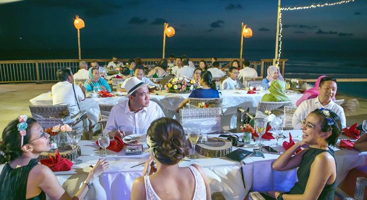 lv8 resort canggu - bali beach wedding venue