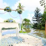 wedding decoration at kupu barong ubud