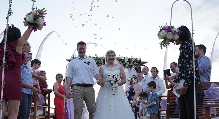 sandi phala beach wedding bali
