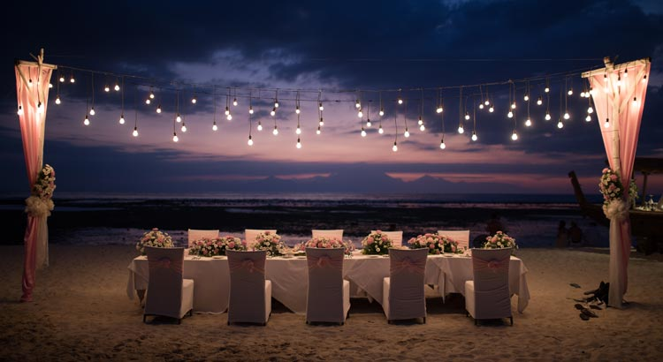 hotel ombak sunset lombok weddings