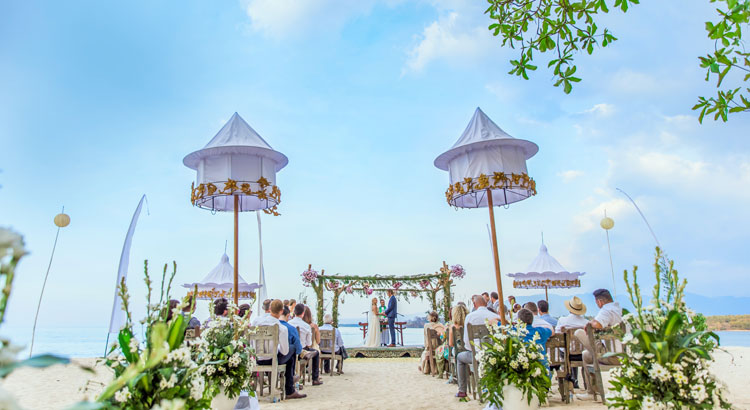 tugu hotel lombok wedding venue