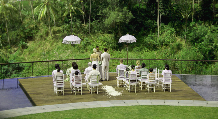 getting married in bali