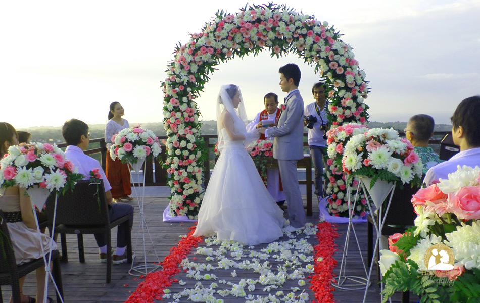 yasuko kanji from japan wedding in bali