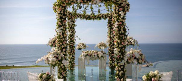 cost of bali wedding flower decoration