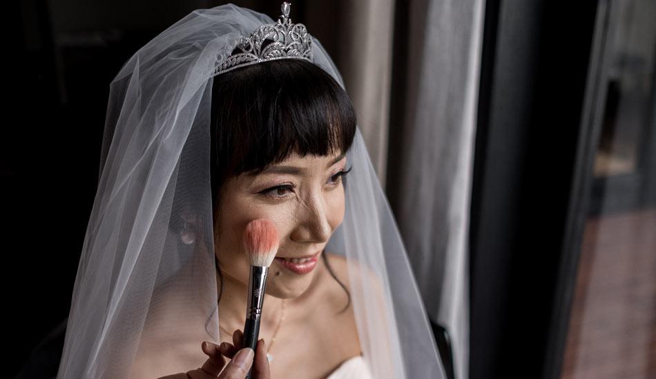 bali wedding make up and hair do