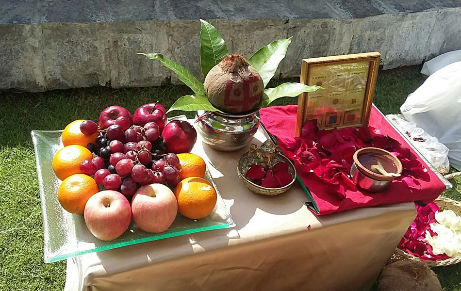fruit for worship