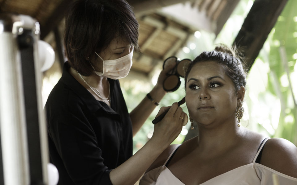makeup artis for indian bali wedding