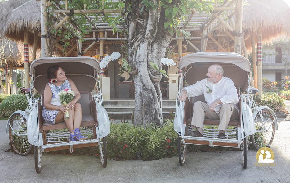 michael migumi wedding vows ubud - visesa villa ubud